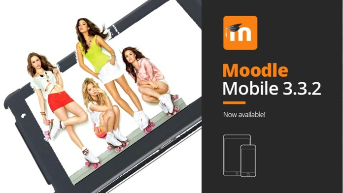 Moodle Mobile 3.3.2 Lets You Slide And Scroll Like Never Before | Con Moodle Mobile 3.3.2, Deslízate Como Nunca Antes