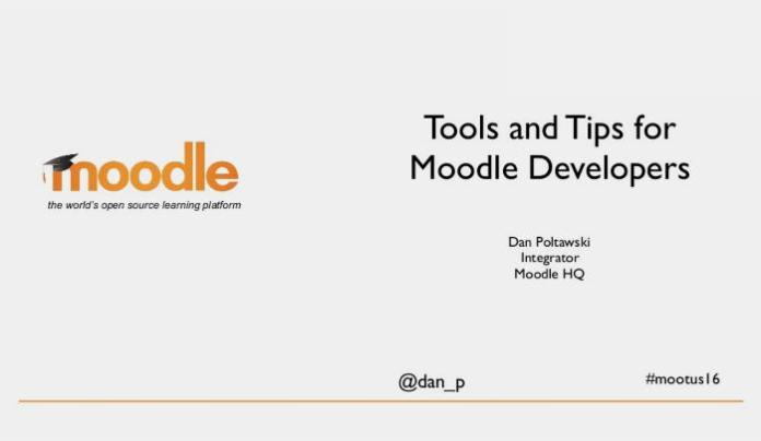 Takeaways To Advance You Moodle Development Courtesy Of Dan P. And #MootUS16