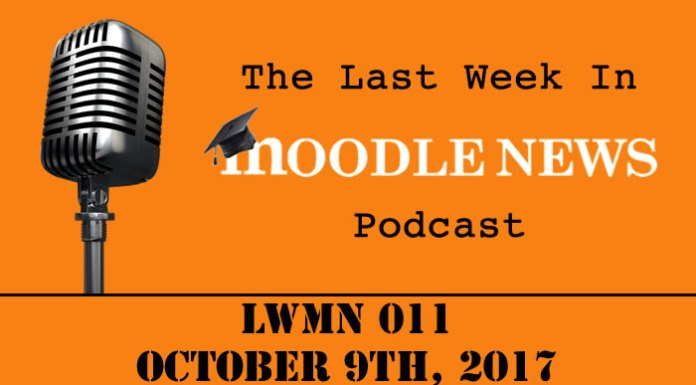 The last week in moodlenews 09 OCT 17
