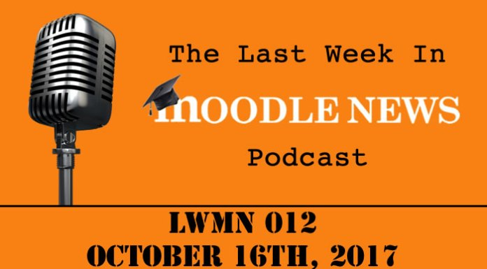 The last week in moodlenews 16 OCT 17