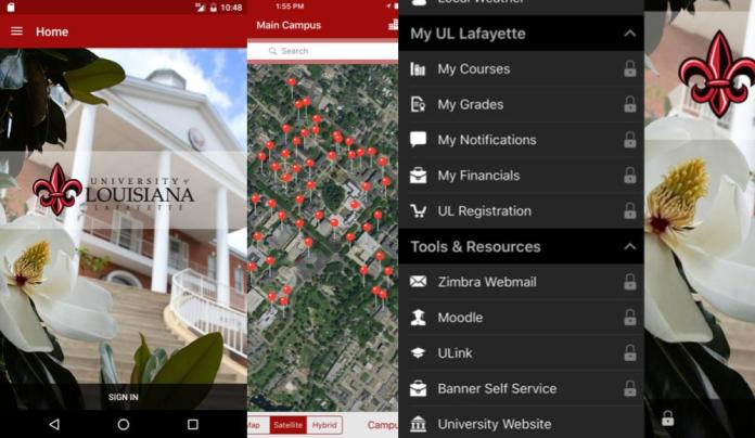 UL Lafayette Integrates Moodle Mobile Into Its One-Stop Campus App