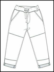 Pantalon Jeff