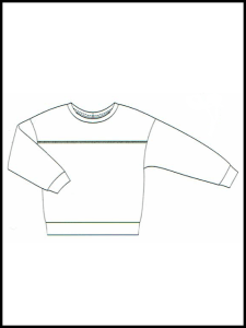 Sweat-Shirt Nona