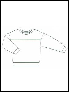 Sweat-Shirt Nona