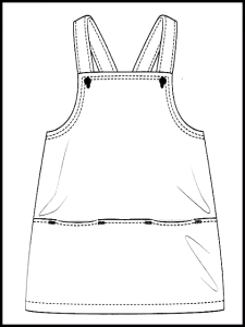 Robe chasuble Selma