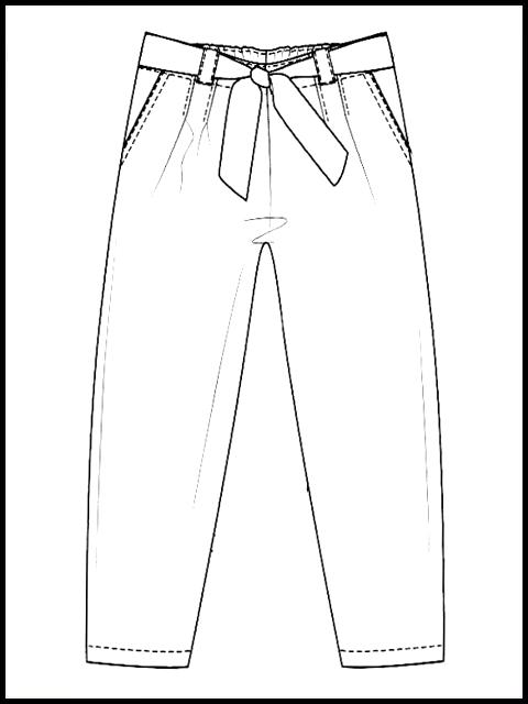 pantalon fanny