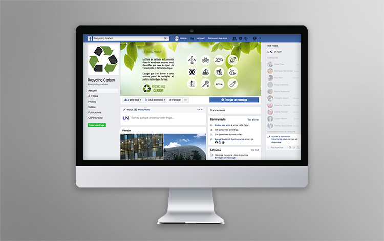 Création banner Facebook - Association eco-responsable