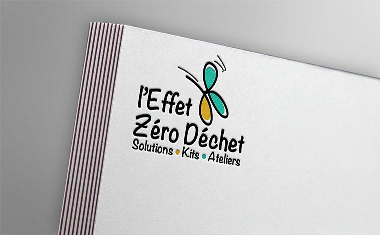 Création logo l'Effet Zéro Déchet