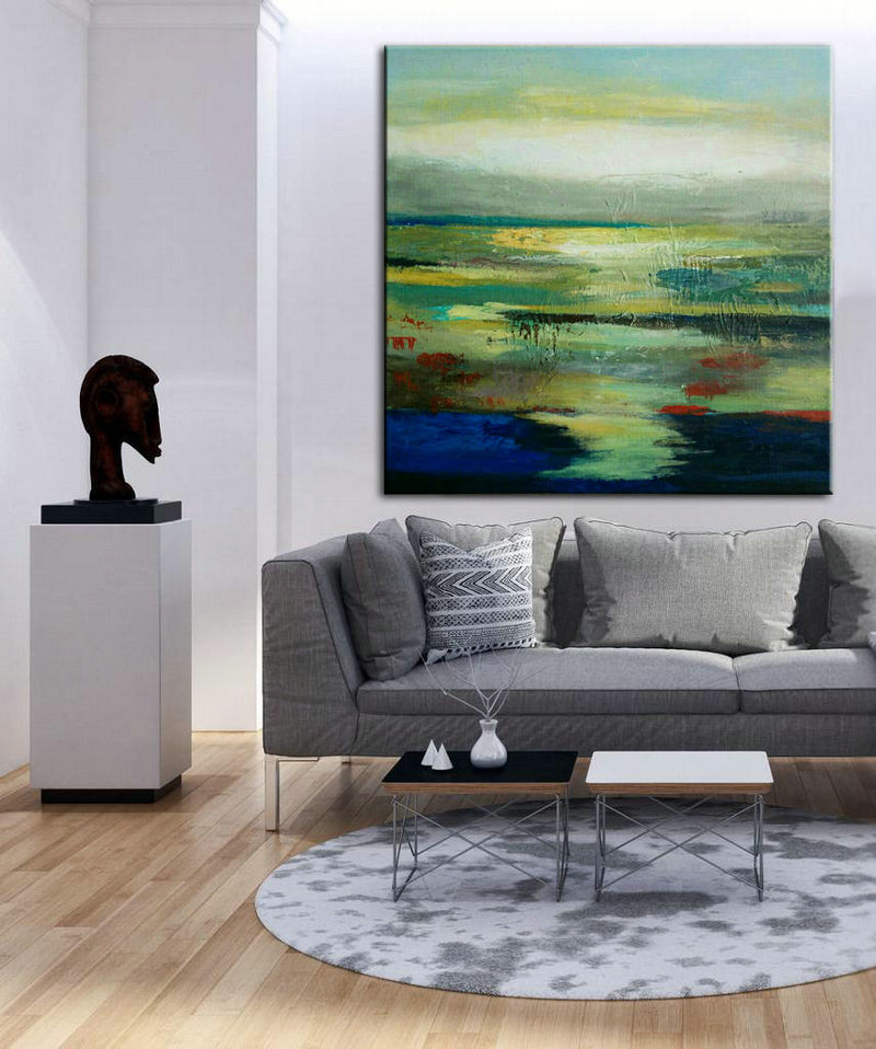 contemporary artwork living room furnitures images art decor abstract print painting