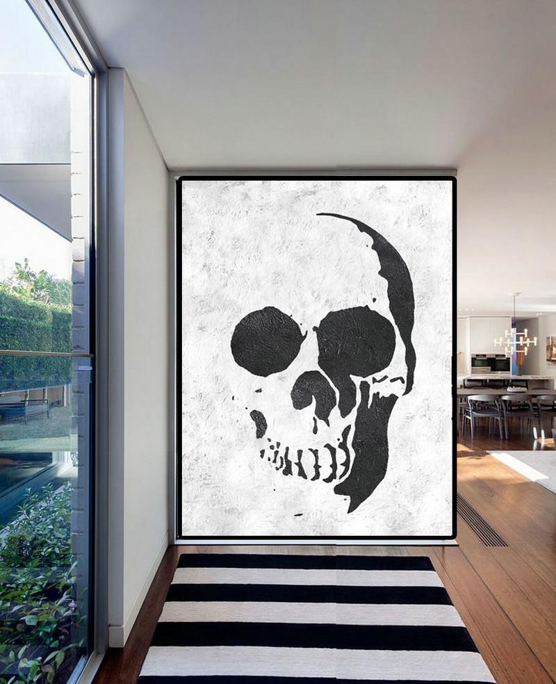 extra large acrylic painting