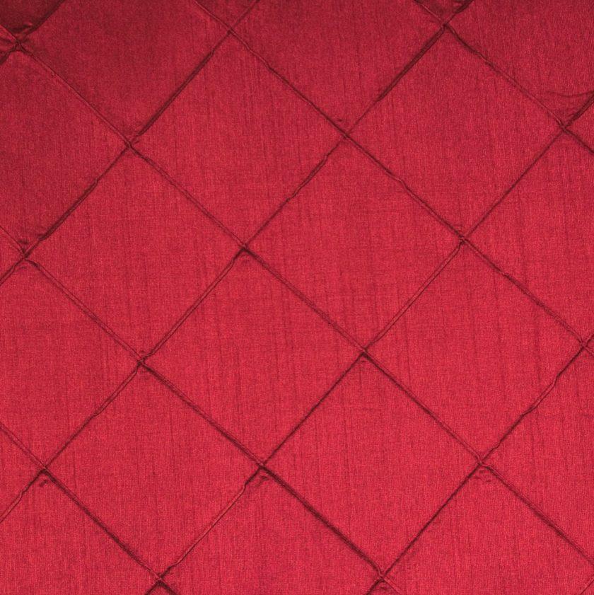 Pintuck Tablecloth  Merlot  Specialty Linen Rental