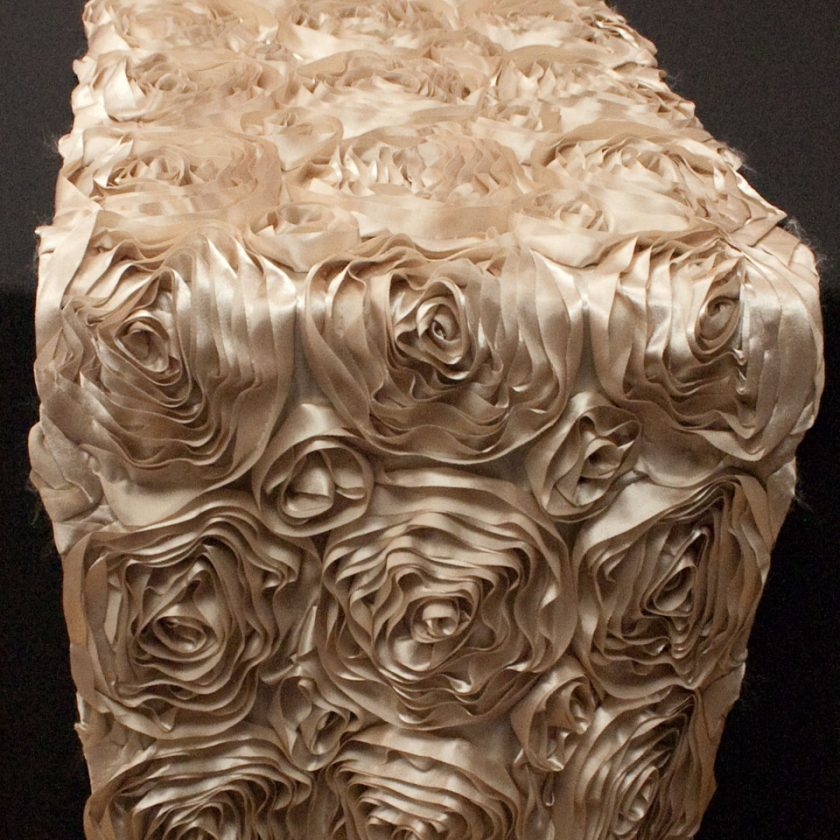 ivory ruched chair covers posture on table runners for weddings, parties, and special events
