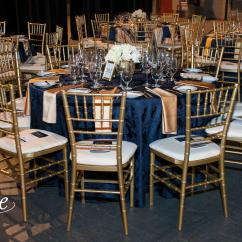 Chair Covers Rental Cleveland Ohio Wooden Folding Chairs For Rent Navy Damask Tablecloth Specialty Linen