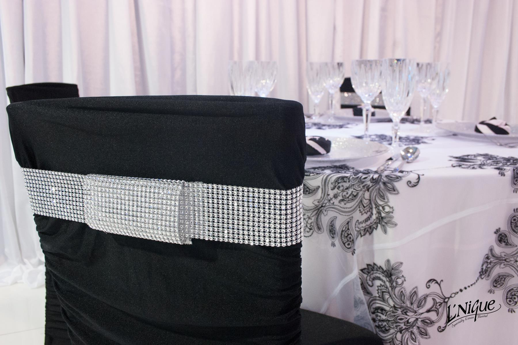 white ruched chair covers maloof for sale black cover over chiavari specialty