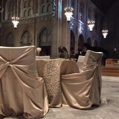 Champagne Banquet Chair Covers Cozy Chairs For Reading Satin Self Tie Cover Specialty Linen Rental