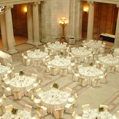 Chair Covers Rental Cleveland Ohio Slipper Target Organza Gold Antique Sash Specialty Linen