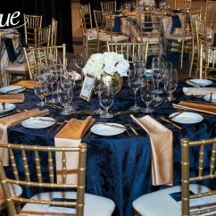 Chair Covers Rental Cleveland Ohio Wicker Saucer Navy Damask Tablecloth Specialty Linen