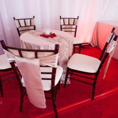 Chair Covers And Tablecloth Rentals Little Girl Chairs Satin Ivory Specialty Linen Rental