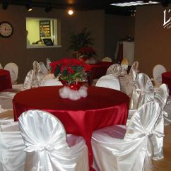 Chair Covers Rental Cleveland Ohio Elegant Office Chairs Satin Garnet Tablecloth Specialty Linen