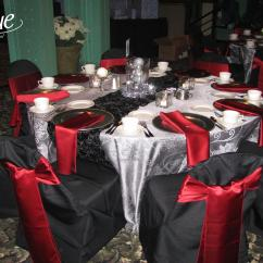 Chair Covers Rental Cleveland Ohio Steel Casters Platinum Damask Tablecloth Specialty Linen