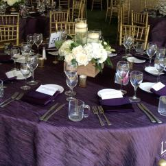 Chair Covers Rental Cleveland Ohio Office In Jaipur Crinkle Grape Tablecloth Specialty Linen