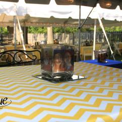 Chair Covers Rental Cleveland Ohio Wedding In Essex Chevron Yellow Tablecloth Specialty Linen