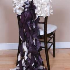 Ruched Chair Covers Allen And Roth Patio Chairs Custom Curly Willows Back - Specialty Linen Rental