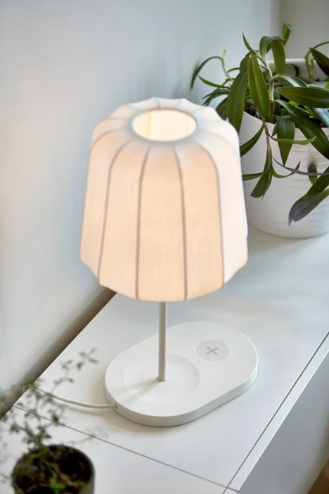 ikea wireless charging lamp