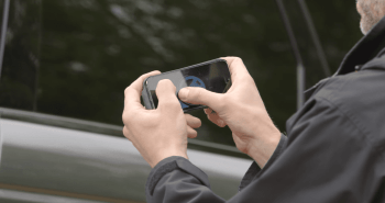 land rover smartphone driving