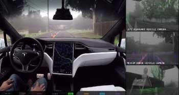טסלה נהיגה עצמית