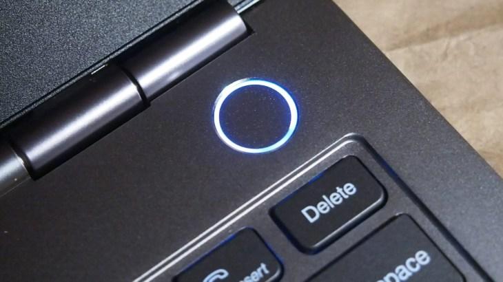 כפתור ההפעלה של ThinkBook 13S-IWL
