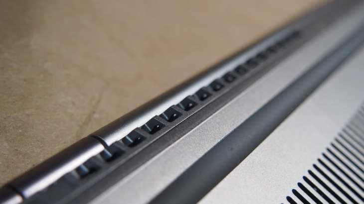 פתחי האוורור של ה-ThinkBook 13S