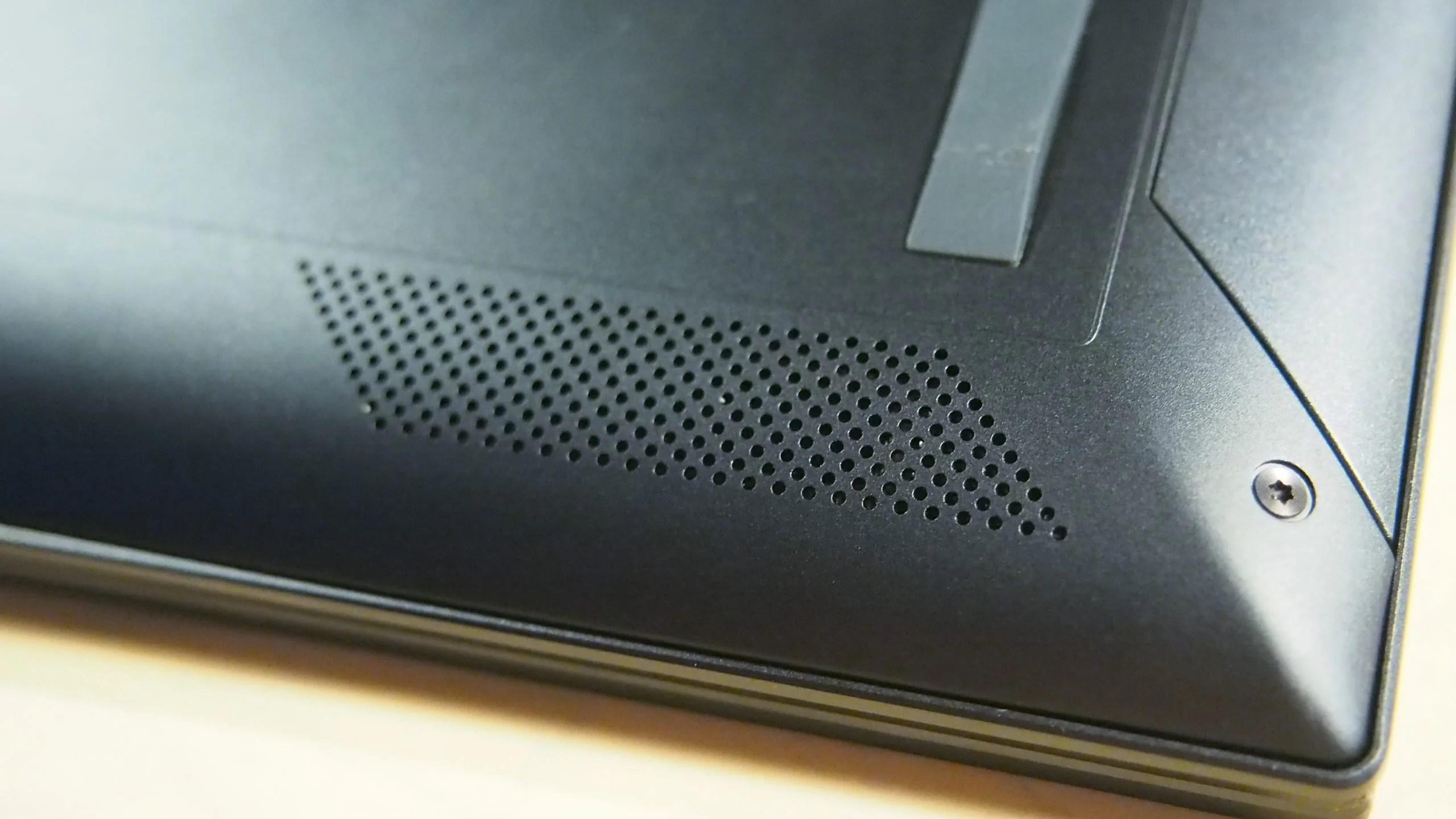הרמקולים של ה-ZenBook Flip 13