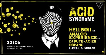 Analog Experience @ Zodiak Club, Brussels