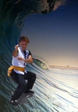 Surf & Kung Fu - photo was taken in 2013