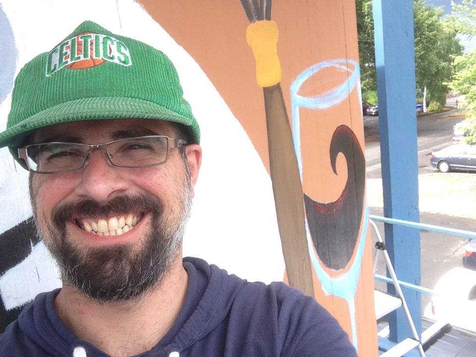 Aaron Ziobrowski | The Loaded Brush | Local pdx artists