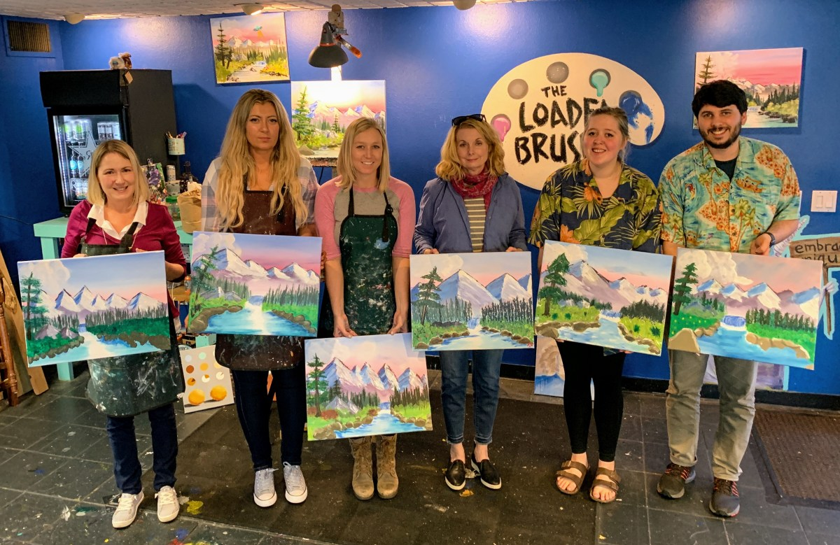 Rob Boss Painting Classes   The Loaded Brush   www.loadedbrushpdx.com