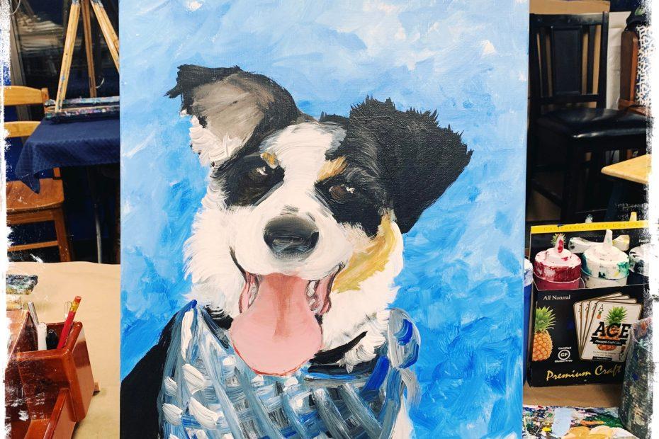 Paint-Your-Pet | The Loaded Brush Paint & Sip Classes | www.loadedbrushpdx.com