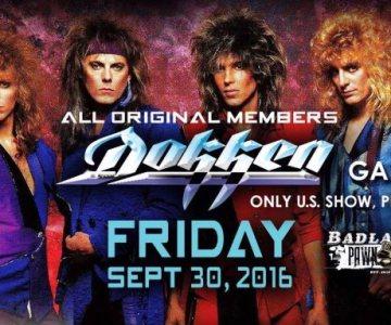 Watch fan-filmed footage of the entire Dokken reunion concert in South Dakota…