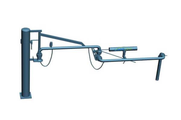 AL1402 top loading arm 1