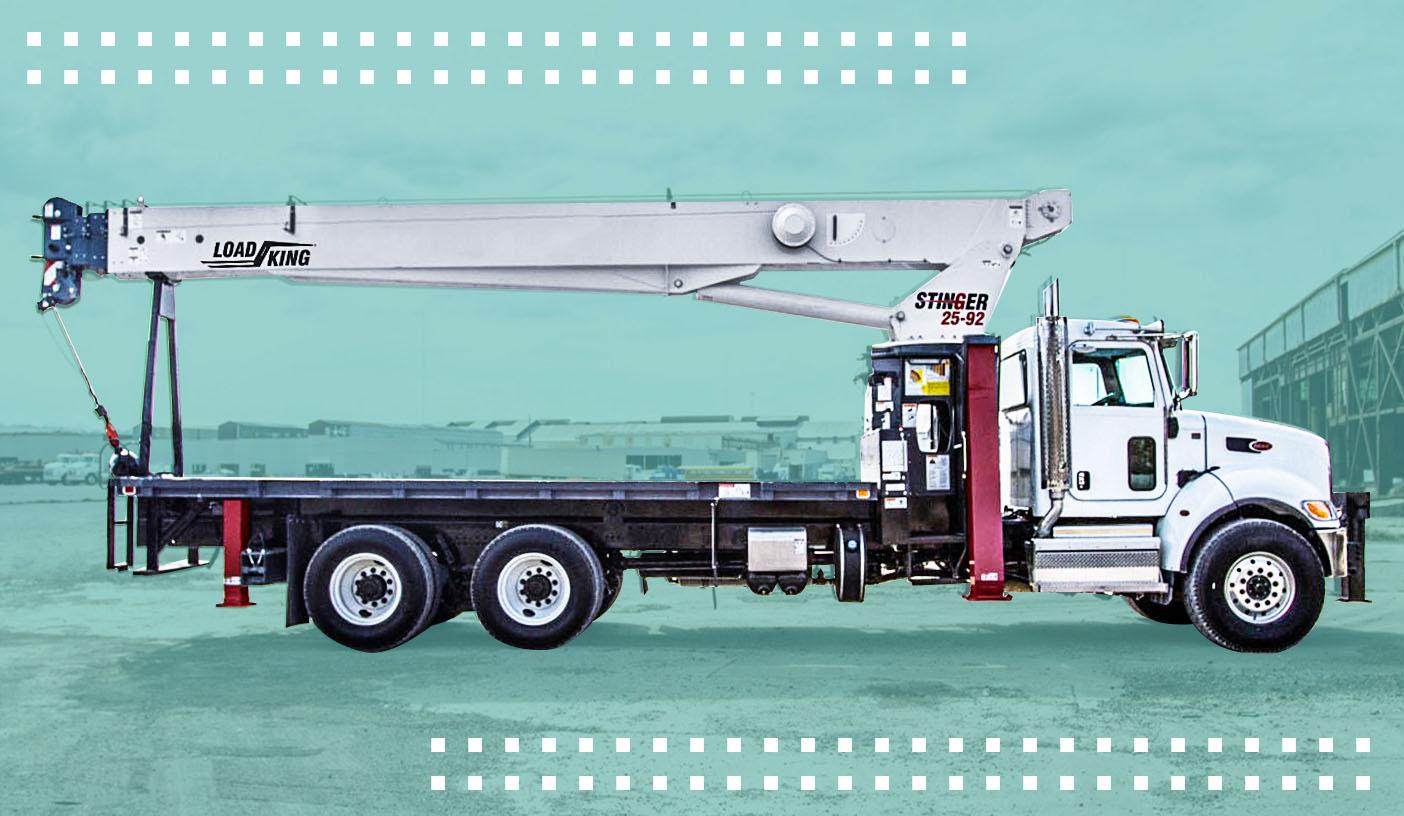 hight resolution of load king cranes