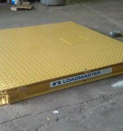 40 000 lb low profile floor scale [ 3264 x 1840 Pixel ]