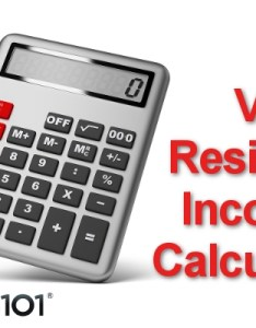 also va residual income calculator rh loans