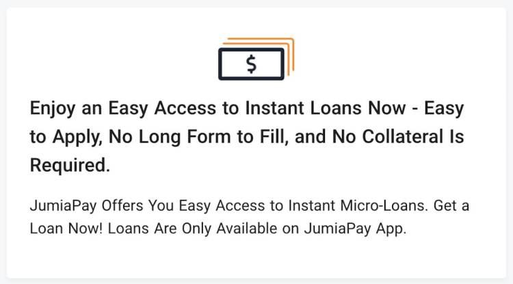 loan in Nigeria