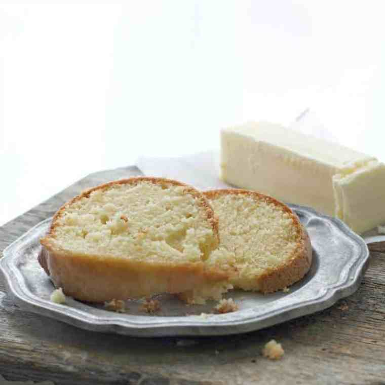 This Easy Kentucky Pound Cake Proves that Butter has Never Looked Better