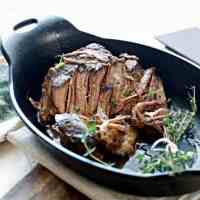 A slightly different view of ALL THE SECRETS TO PERFECT CROCKPOT POT ROAST