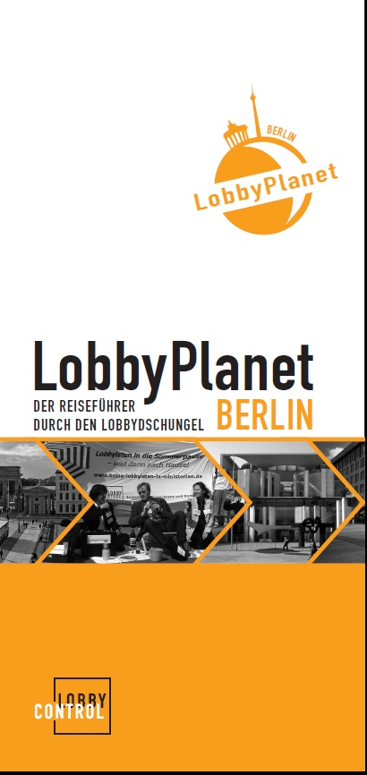 Cover des Lobby Planet Berlin