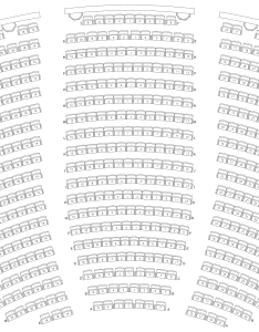 Lobero theatre seating chart also californias oldest continuously operating rh