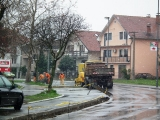 Radovi na ulicama Borče - Beograd put - 95