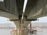 Radovi na mostu Borča – Zemun napreduju i bez Kineza - 2014